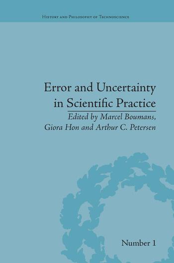 Error and Uncertainty in Scientific Practice book cover