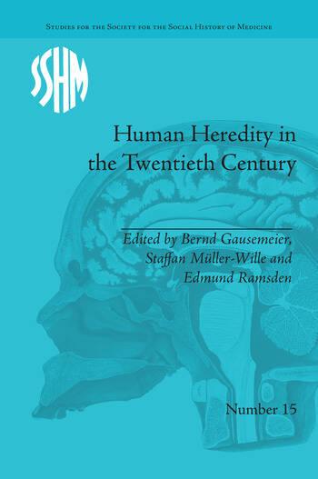 Human Heredity in the Twentieth Century book cover
