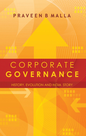 Corporate Governance Concept, Evolution and India Story book cover