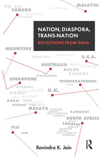 Nation, Diaspora, Trans-nation Reflections from India book cover