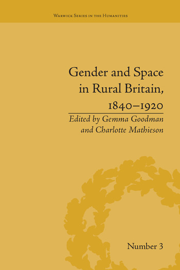 Gender and Space in Rural Britain, 1840–1920 book cover