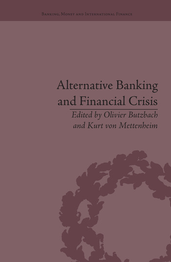 Alternative Banking and Financial Crisis book cover