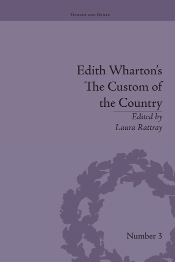 Edith Wharton's The Custom of the Country A Reassessment book cover