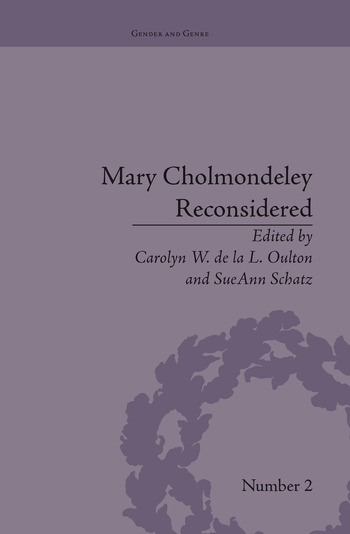 Mary Cholmondeley Reconsidered book cover