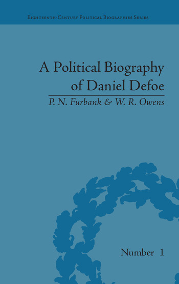 A Political Biography of Daniel Defoe book cover