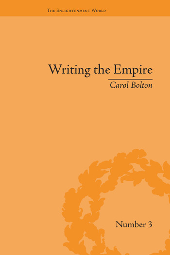 Writing the Empire Robert Southey and Romantic Colonialism book cover