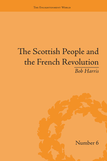 The Scottish People and the French Revolution book cover