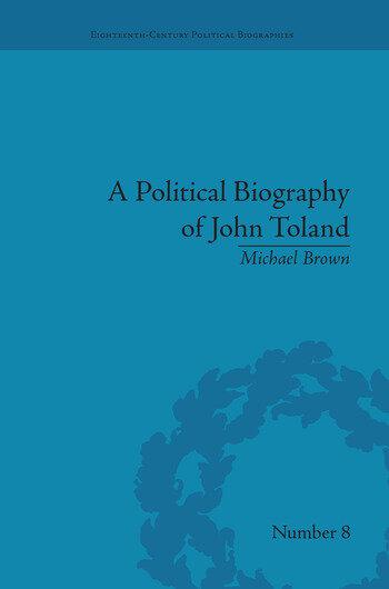 A Political Biography of John Toland book cover