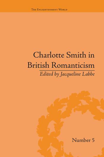 Charlotte Smith in British Romanticism book cover