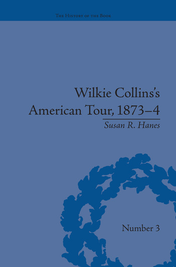 Wilkie Collins's American Tour, 1873-4 book cover