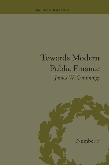 Towards Modern Public Finance The American War with Mexico, 1846-1848 book cover