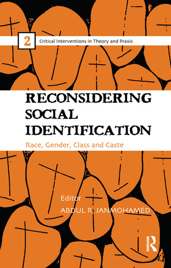 Reconsidering Social Identification Race, Gender, Class and Caste book cover