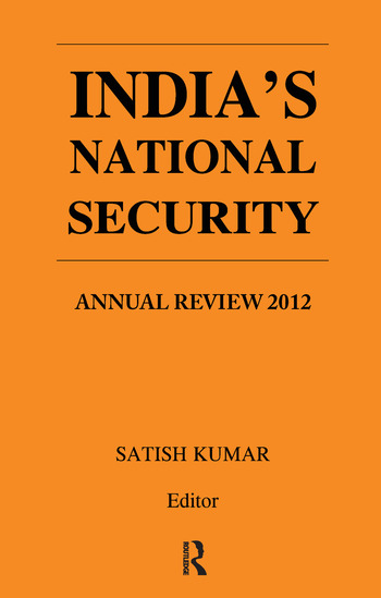 India's National Security Annual Review 2012 book cover