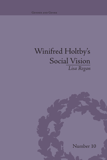 Winifred Holtby's Social Vision 'Members One of Another' book cover