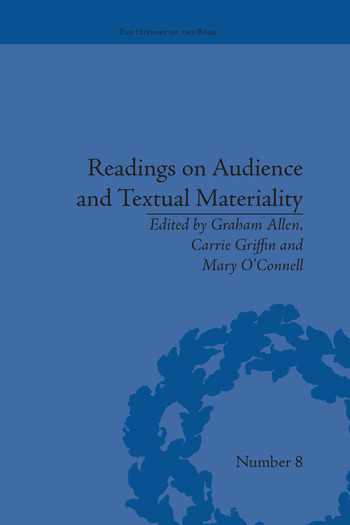 Readings on Audience and Textual Materiality book cover