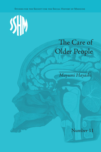 The Care of Older People England and Japan, A Comparative Study book cover