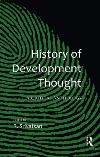 History of Development Thought A Critical Anthology book cover