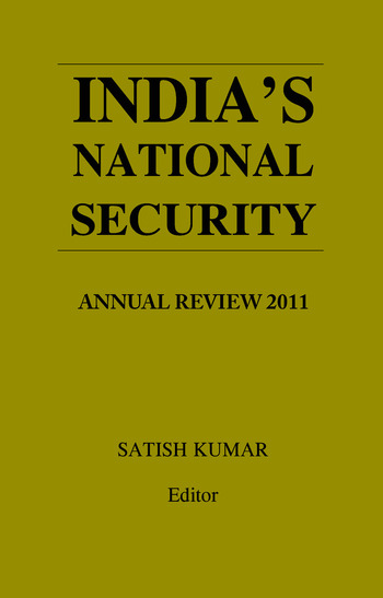 India's National Security Annual Review 2011 book cover