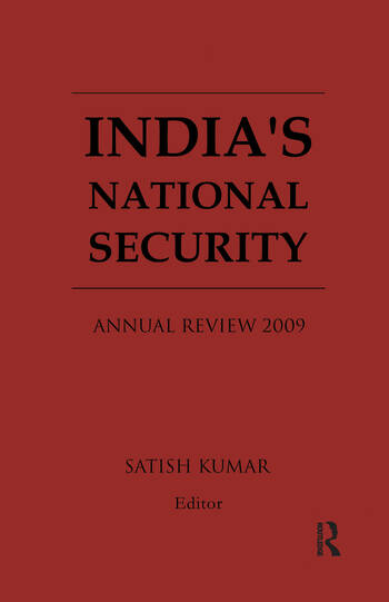 India's National Security Annual Review 2009 book cover