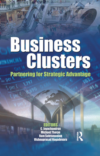 Business Clusters Partnering for Strategic Advantage book cover