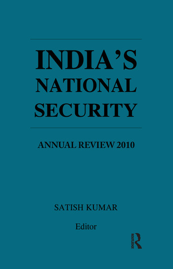 India's National Security Annual Review 2010 book cover