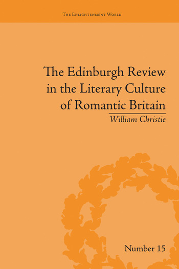 The Edinburgh Review in the Literary Culture of Romantic Britain Mammoth and Megalonyx book cover
