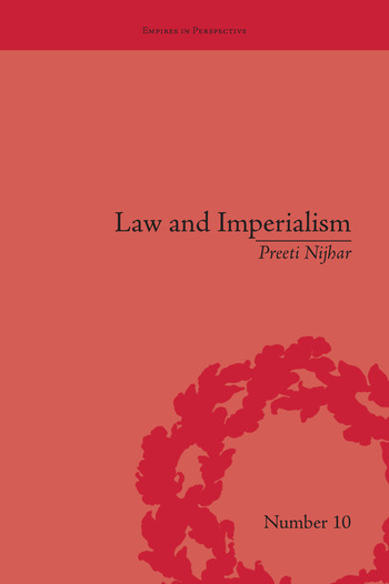 Law and Imperialism Criminality and Constitution in Colonial India and Victorian England book cover