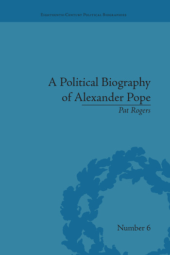 A Political Biography of Alexander Pope book cover