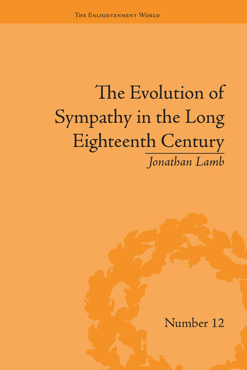 The Evolution of Sympathy in the Long Eighteenth Century book cover