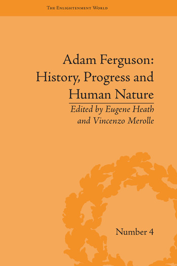 Adam Ferguson: History, Progress and Human Nature book cover