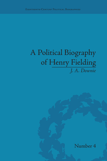 A Political Biography of Henry Fielding book cover