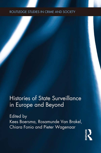Histories of State Surveillance in Europe and Beyond book cover
