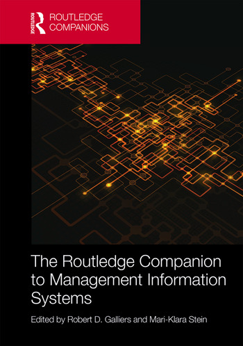 The Routledge Companion to Management Information Systems book cover