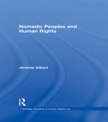 Nomadic Peoples and Human Rights book cover
