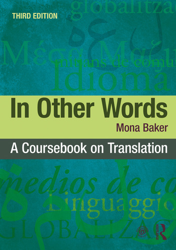In Other Words A Coursebook on Translation book cover