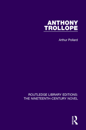 Anthony Trollope book cover