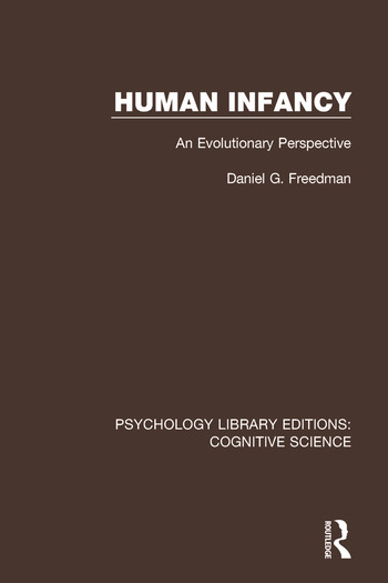 Human Infancy An Evolutionary Perspective book cover