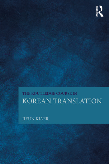 The Routledge Course in Korean Translation book cover