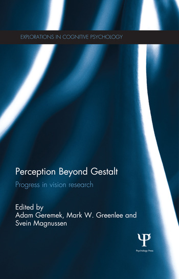 Perception Beyond Gestalt Progress in vision research book cover