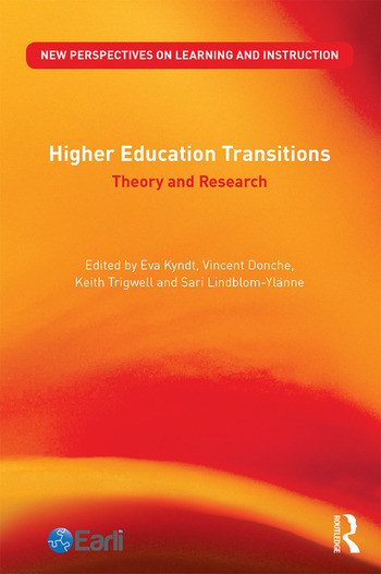 Higher Education Transitions Theory and Research book cover
