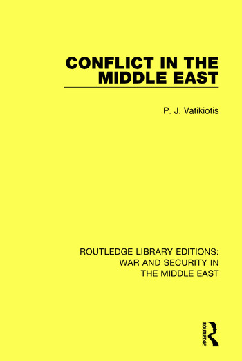 Conflict in the Middle East book cover