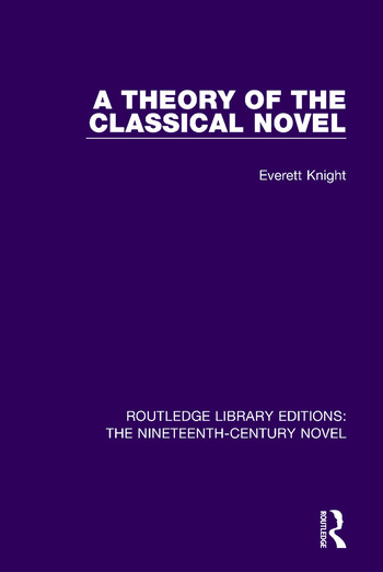 A Theory of the Classical Novel book cover
