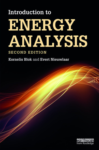 Introduction to Energy Analysis book cover