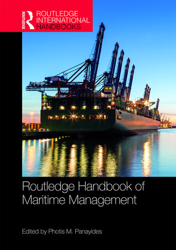 The Routledge Handbook of Maritime Management book cover