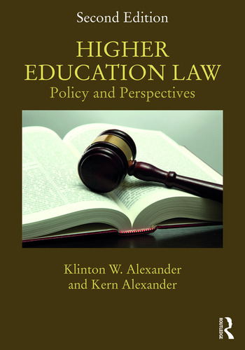 Higher Education Law Policy and Perspectives book cover