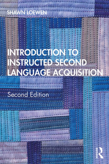 Introduction to Instructed Second Language Acquisition book cover