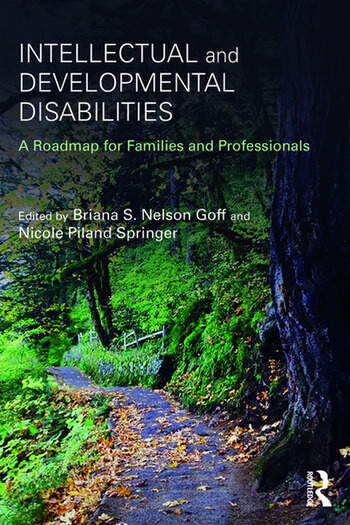 Intellectual and Developmental Disabilities A Roadmap for Families and Professionals book cover