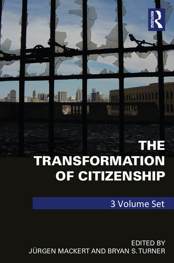 The Transformation of Citizenship 3 volume set book cover