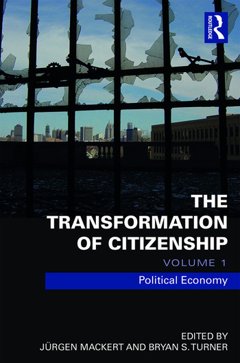 The Transformation of Citizenship, Volume 1 Political Economy book cover