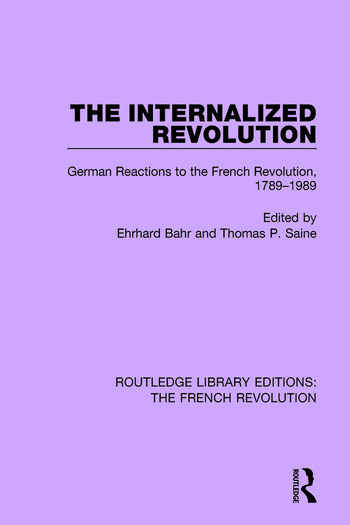 The Internalized Revolution book cover